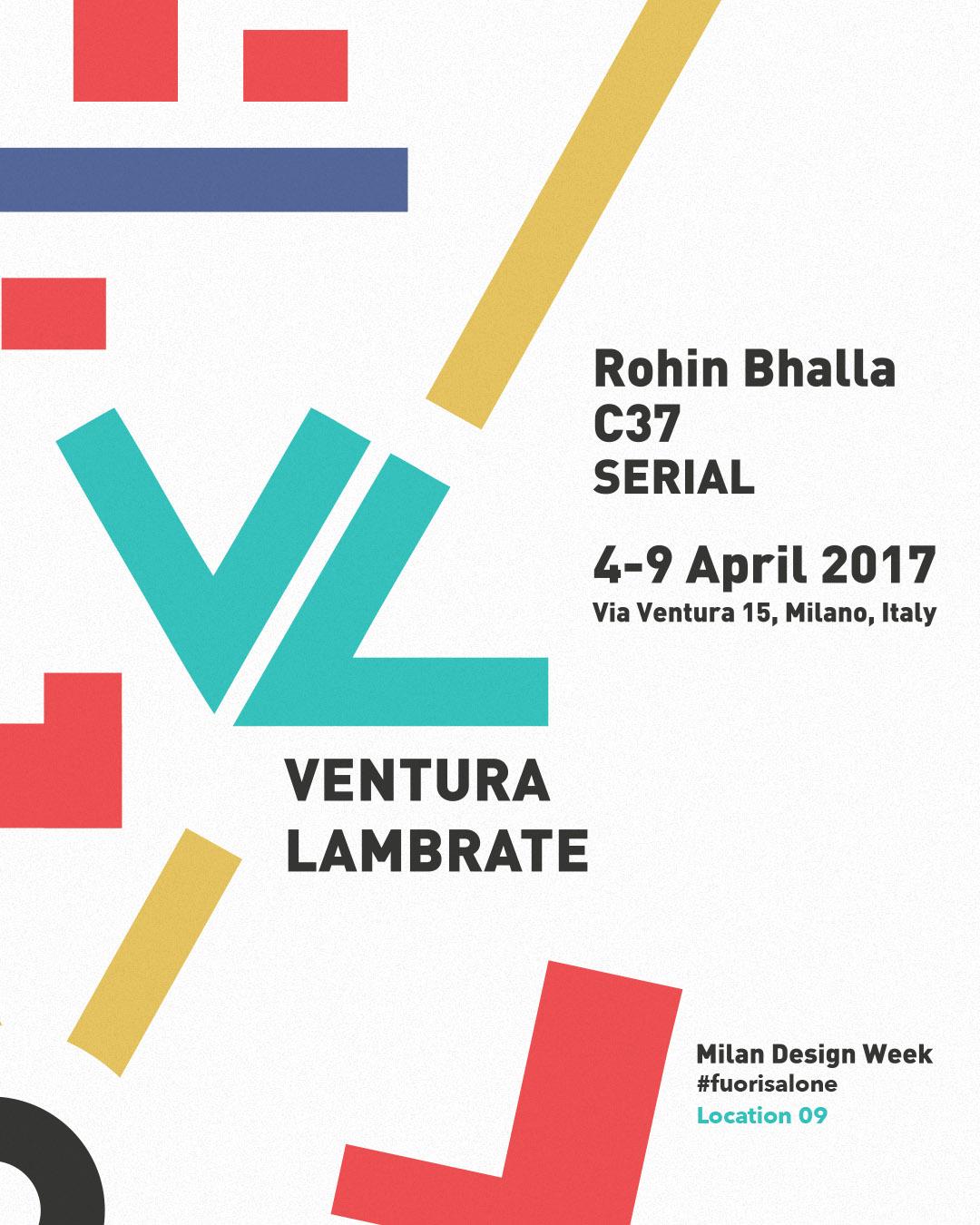 Rohin Bhalla Milan Design Week